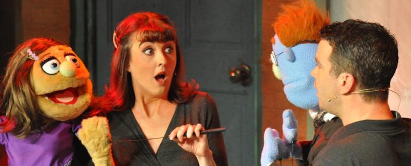 Brassneck Perform Avenue Q, Theatre Company in Leeds