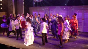 The Company of The Wedding Singer