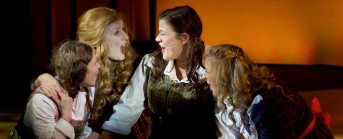 The March Sisters in Little Women