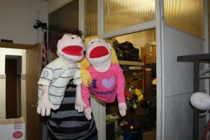 Practice puppets