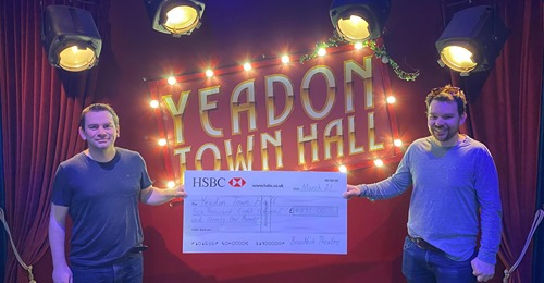 140 for 140 fundraiser for Yeadon Town Hall